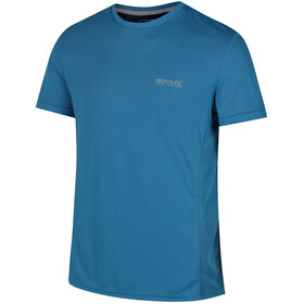 Regatta Hyper-Cool Bluzka z krótkim rękawem Mężczyźni niebieski